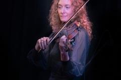 Laurel on violin